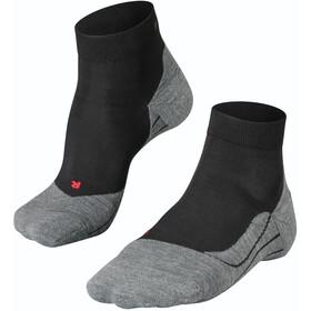 Falke RU4 Calzini da corsa Donna, nero/grigio
